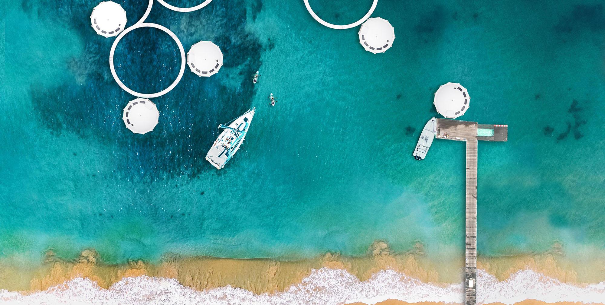 Anthénea, habitat flottant et suite hôtelière flottante